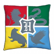 Harry Potter Hogwarts Official Square Super Soft Two Sided Printed Cushion