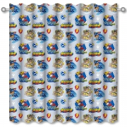 Official Paw Patrol Super Mighty Pups 66 X 54 inch Drop Curtain Pair