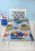 Paw Patrol Super Rotary Single Bed Duvet Quilt Cover Set