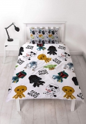 Disney Star Wars Mini Reversible Rotary Single Bed Duvet Quilt Cover Set