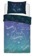 Harry Potter Celestial Magic Panel Single Bed Duvet Quilt Cover Set