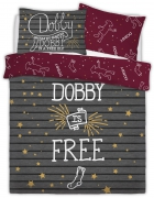 Harry Potter Dobby The Elf Panel Double Bed Duvet Quilt Cover Set