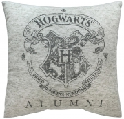 Harry Potter Hogwarts Crest Alumni Square Shaped Filled Printed Cushion