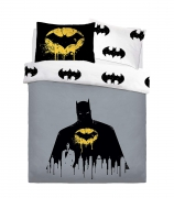 Batman Dark Knight Rotary Double Bed Duvet Quilt Cover Set