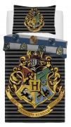 Harry Potter Crest Panel Single Bed Duvet Quilt Cover Set