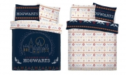 Harry Potter Hogwarts Break Panel Double Bed Duvet Quilt Cover Set