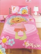 Fifi and The Flowertots Buttercup Panel Single Bed Duvet Quilt Cover Set