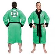 Dc Comics 'Green Lantern' Green Adult One Size Bathrobe