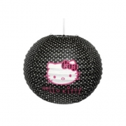 Hello Kitty 'Black' Lampshade Paper Shade Lighting