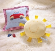 Izziwotnot Humphrey' S Sun Shaped Cushion Plush Soft Toy