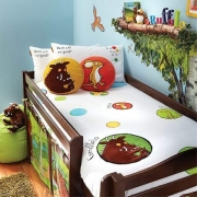 The Gruffalo Panel Single Bed Duvet Quilt Cover Set