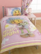 Fifi and The Flowertots Night Panel Single Bed Duvet Quilt Cover Set