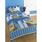 Disney Wall e Future Rotary Single Bed Duvet Quilt Cover Set