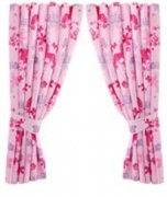 Barbie 66 X 54 inch Drop Curtain Pair