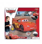 Disney Cars Remote Controlled Ligthening Mcqueen Inflatable Radio Car Toy