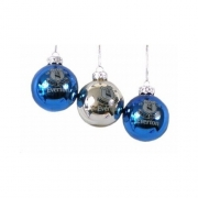 Everton Fc Football Baubles Official Christmas