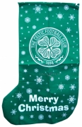 Celtic Fc Football Xmas Stocking 1m Official Christmas