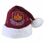 West Ham United Fc Football Xmas Hat Official Christmas