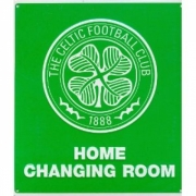 Celtic Fc Football Home Changing Room Sign Official Board