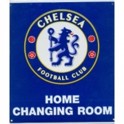 Chelsea Fc Football Home Changing Room Sign Official Board