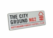 Nottingham Forest Fc Football Street Sign Official Board