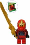 Lego Ninjago 'Kai Minifigure' Alarm Clock