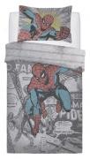 Marvel Comics 'Comic Group' Panel Single Bed Duvet Quilt Cover Set