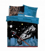 Disney Star Wars Comic Pop Reversible Panel Single Bed Duvet Quilt Cover Set