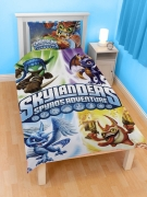 Skylanders Spyro'S Adventure ' Portal of Power' Reversible Panel Single Bed Duvet Quilt Cover Set