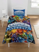 Skylanders Spyro' S Adventure Panel Single Bed Duvet Quilt Cover Set