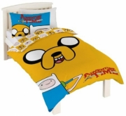 Adventure Time 'Jake' Reversible Panel Single Bed Duvet Quilt Cover Set