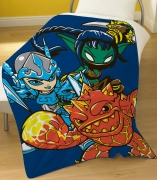 Skylanders 'Swap Force' Panel Fleece Blanket Throw