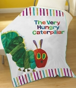 The Very Hungry Caterpillar Panel Fleece Blanket Throw