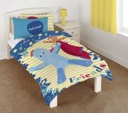 In The Night Garden 'Igglepiggle' Panel Single Bed Duvet Quilt Cover Set