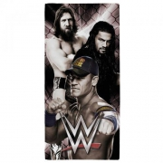 WWE Stars 'Drj' Velour Printed Beach Towel