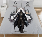 Assassins Creed 'Syndicate' Panel Double Bed Duvet Quilt Cover Set