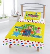 Mr Tumble 'Something Special' Panel Junior Cot Bed Duvet Quilt Cover Set
