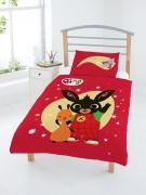 Bing Bunny Panel Junior Cot Bed Duvet Quilt Cover Set