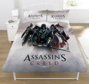 Assassins Creed 'Montage' Panel Double Bed Duvet Quilt Cover Set