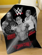 WWE 'Stars' Rdj Panel Fleece Blanket Throw