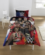 WWE 'Super 7' Panel Single Bed Duvet Quilt Cover Set