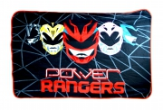 Power Rangers 'Geo Shard' Panel Fleece Blanket Throw