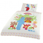In The Night Garden Best Friends Panel Junior Cot Bed Duvet Quilt Cover Set