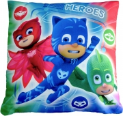 Disney Pj Masks 'Heroes vs Villains' Printed Cushion