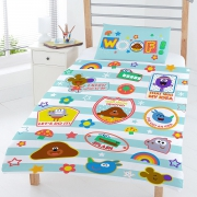 Hey Duggee Woof Multi Colour Rotary Junior Cot Bed Duvet Quilt Cover Set