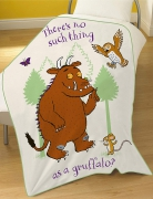 The Gruffalo Multi Panel Fleece Blanket Throw