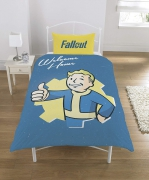 Fallout Polycotton Panel Single Bed Duvet Quilt Cover Set