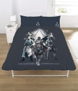 Assassin' S Creed Polycotton Panel Double Bed Duvet Quilt Cover Set