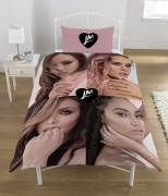 Little Mix Polycotton Panel Single Bed Duvet Quilt Cover Set