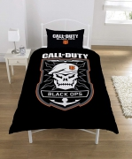Call of Duty Polycotton Black Panel Single Bed Duvet Quilt Cover Set